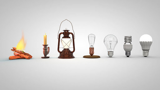 Invention and Evolution of Light Bulb—more than a spark in the mind of a genius