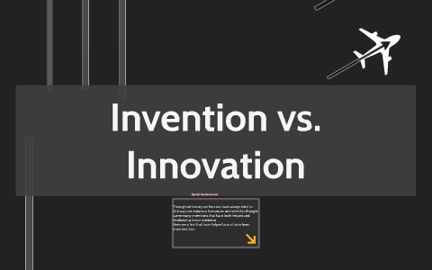 Invention vs Innovation discourse suffers from lack of clarity, as we often use these two terms interchangeably, however, there is fine line